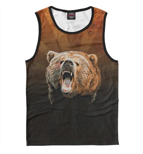 Купить Майка для мальчика Медведь MED-939278-may-2