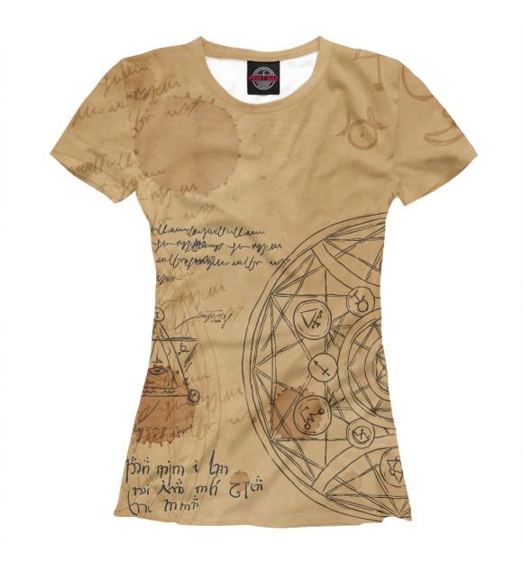 Женская футболка Alchemy APD-955067-fut-1  - купить со скидкой