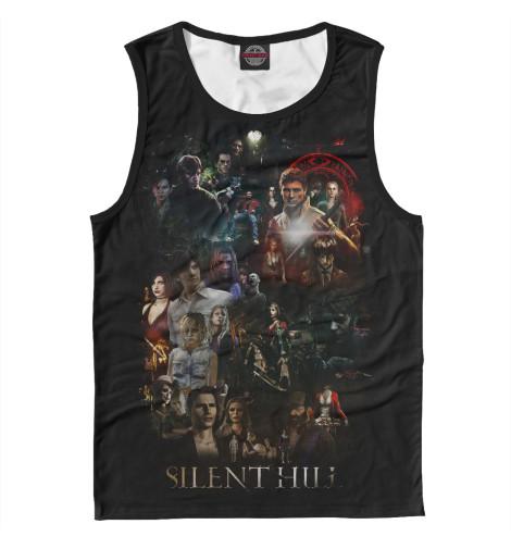 Майка Print Bar Silent Hill майка print bar silent hill 3