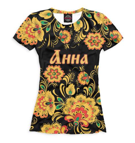 Женская футболка Анна