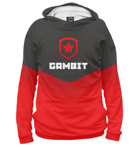 Худи Print Bar Gambit Gaming Team queen s gambit
