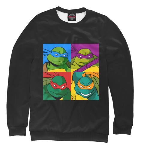 Свитшот Print Bar Ninja Turtles свитшот print bar brooklyn turtles