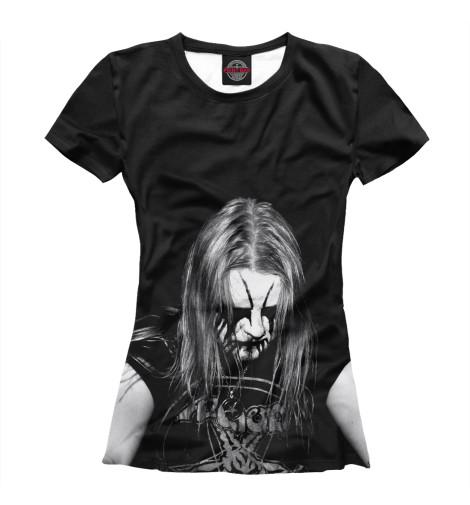 Купить Женская футболка Black Metal Ist Krieg MZK-322984-fut-1