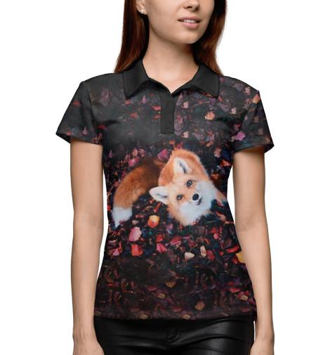 Купить Поло для девочки Лиса FOX-394872-pol-1