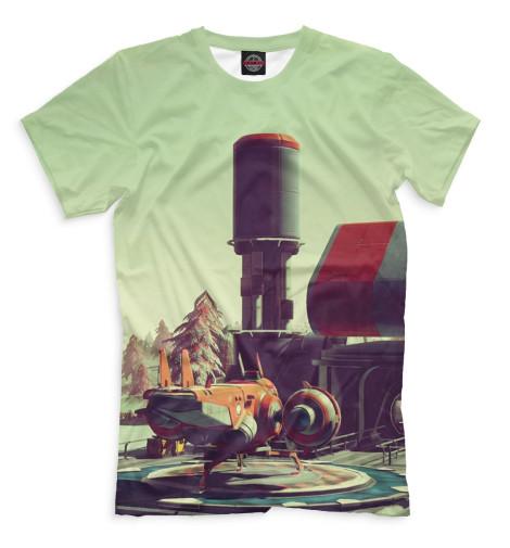 Купить Мужская футболка No Man's Sky NMS-787412-fut-2