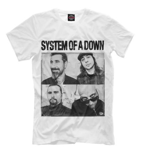 Футболка Print Bar System Of A Down футболка для беременных printio system of a down