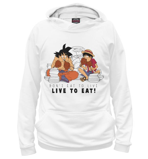 Купить Мужское худи Don't eat to live, live to eat ANR-890757-hud-2
