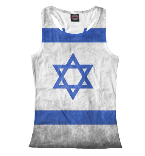 Майка борцовка Print Bar Флаг Израиля флаг пограничных войск россии великий новгород