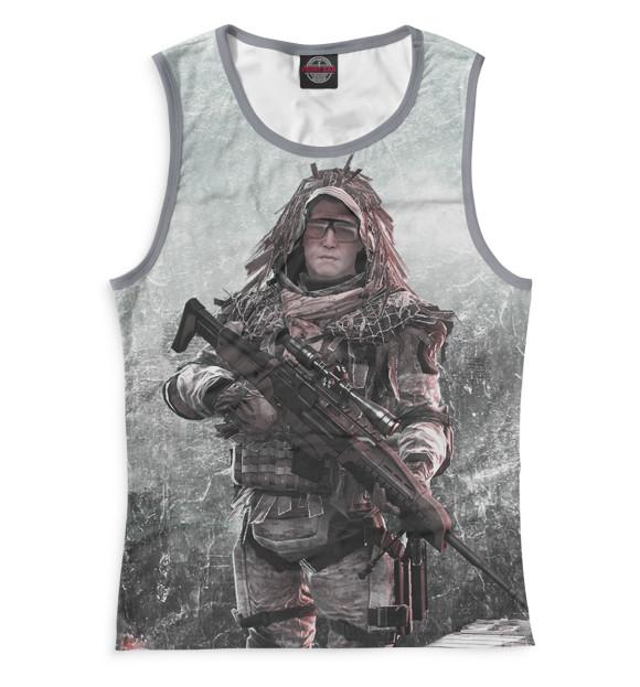 Купить Женская майка Warface RPG-857236-may-1