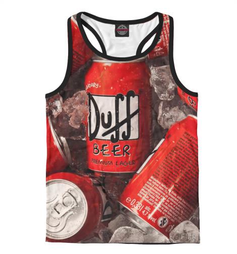 Майка борцовка Print Bar Duff Beer майка борцовка print bar duff beer
