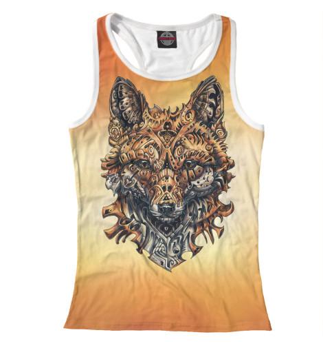 Купить Майка для девочки Механическая Лиса FOX-300870-mayb-1