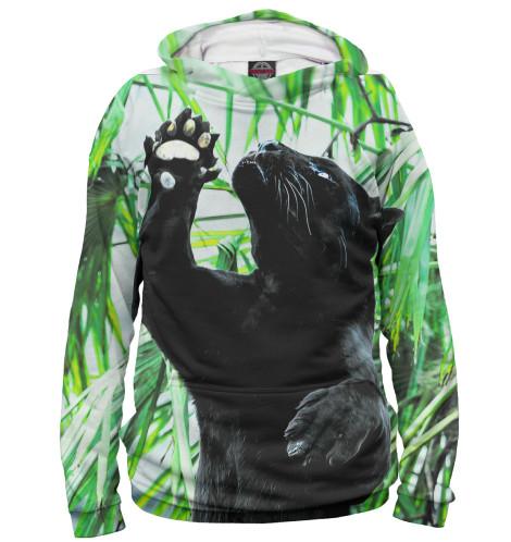 Купить Худи для девочки Чёрная пантера HIS-434679-hud-1