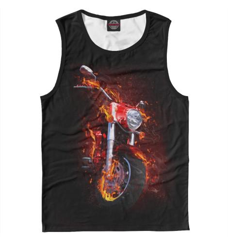 Майка Print Bar Огненный чеппер футболка print bar real огненный лого