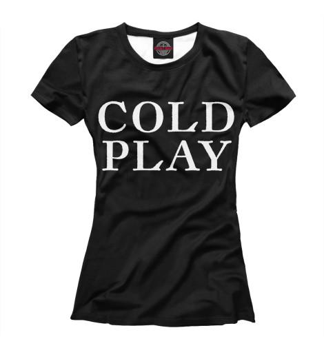 Футболка Print Bar Coldplay coldplay coldplay ghost stories
