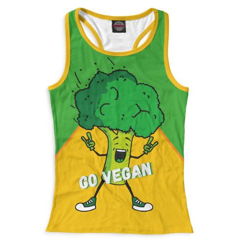 Майка борцовка Print Bar Go Vegan свитшот print bar go vegan