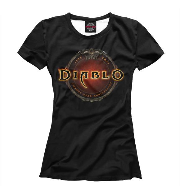 Купить Женская футболка Diablo DIO-550017-fut-1