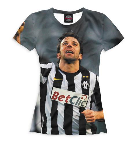 Женская футболка Дель Пьеро