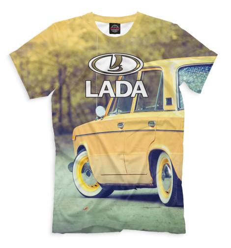 Мужская футболка LADA