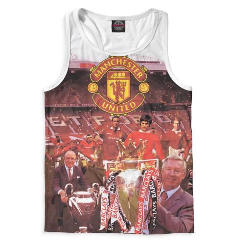Мужская майка-борцовка Manchester United кубик Print Bar MAN-660867-mayb-2