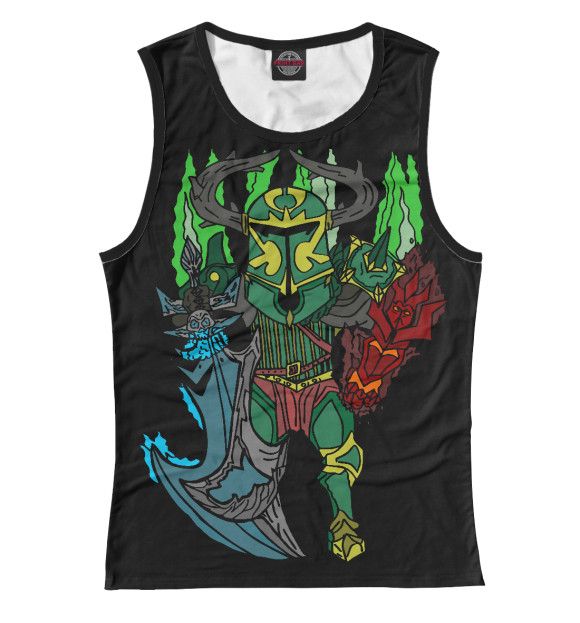 Купить Женская майка Фан арт Wraith King DO2-502003-may-1
