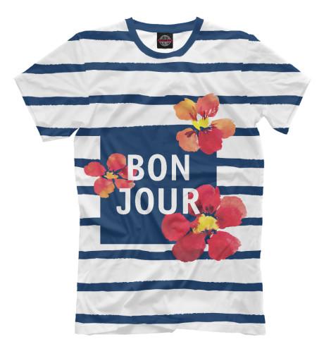 Футболка Print Bar Bonjour orient tv00006b