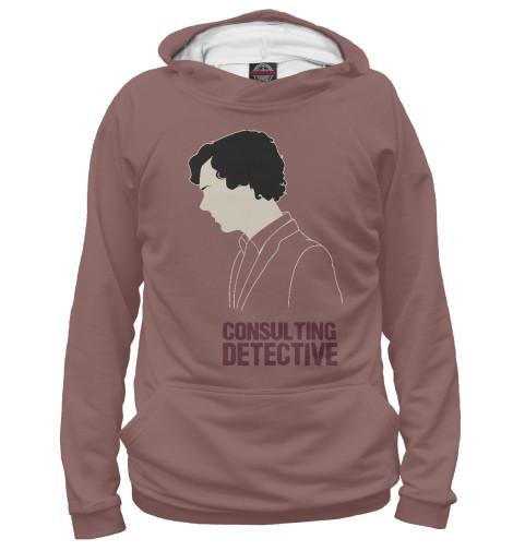 Худи Print Bar Consulting Detective detective cross
