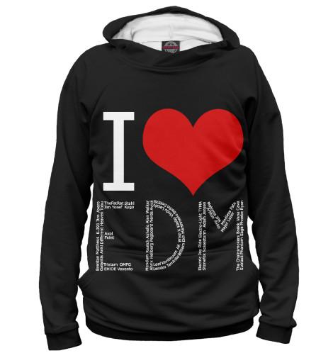 Худи Print Bar I love EDM