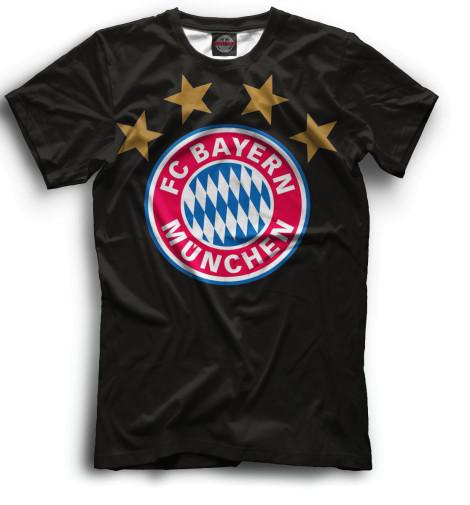 Мужская футболка Герб Bayern Munchen