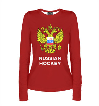 Женский лонгслив Russian Hockey