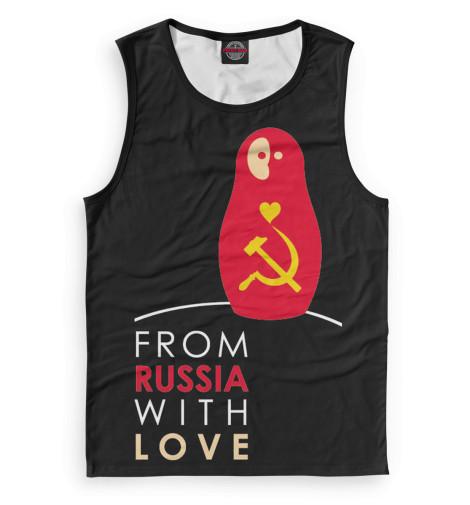 Мужская майка From Russia With Love