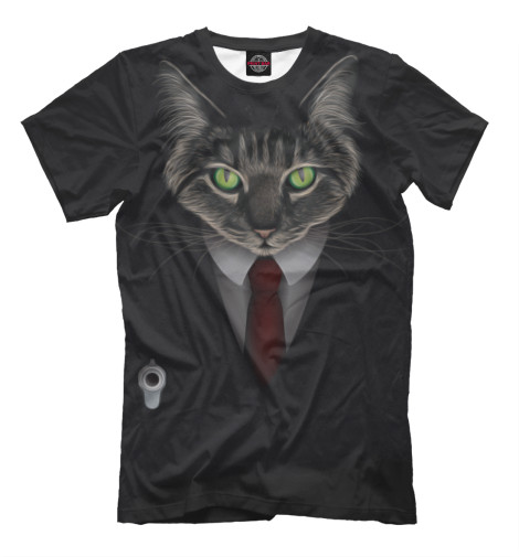 Футболка Print Bar Cat Hitman худи print bar cat hitman
