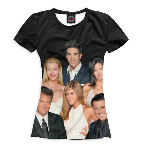 Женская футболка Друзья