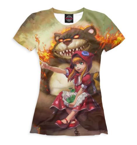 Женская футболка Annie