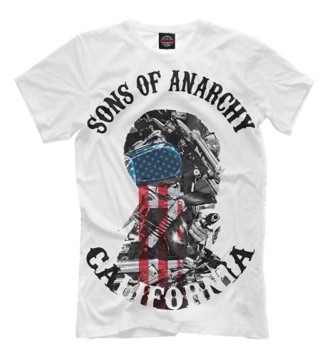 Футболка Print Bar Сыны анархии книги эксмо сыны анархии братва