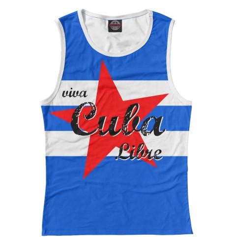 Майка Print Bar Куба dkny willoughby ny2553