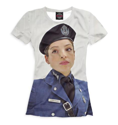 Женская футболка Джессика Рэйнер