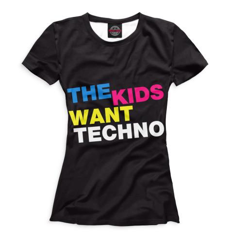Футболка Print Bar  Love Techno
