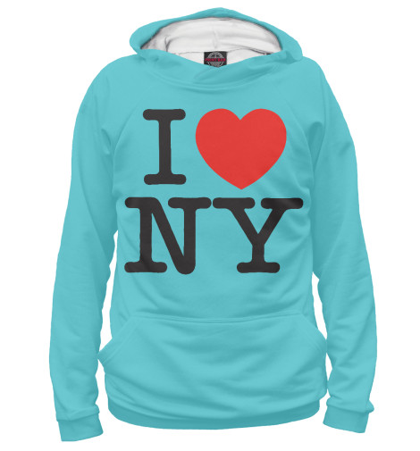 Худи Print Bar I Love New York dkny love from new york for women где