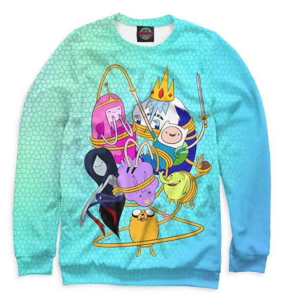 Купить Мужской свитшот Adventure Time ADV-721112-swi-2