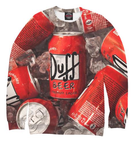 Свитшот Print Bar Duff Beer свитшот print bar duff beer