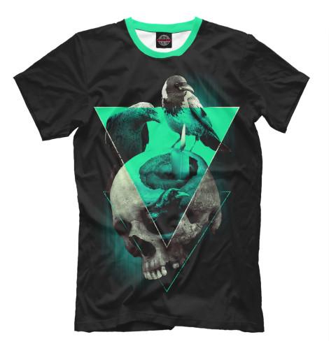 Купить Мужская футболка Череп колдуна DAR-735491-fut-2