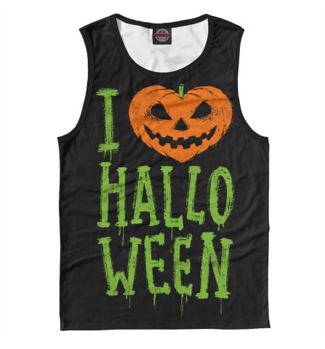 Майка Print Bar I Love Halloween худи print bar i love halloween