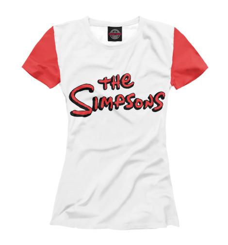 Купить Футболка для девочек The Simpsons SIM-493922-fut-1
