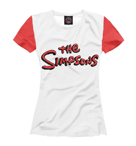 Футболка Print Bar The Simpsons футболка с полной запечаткой мужская printio the simpsons 1