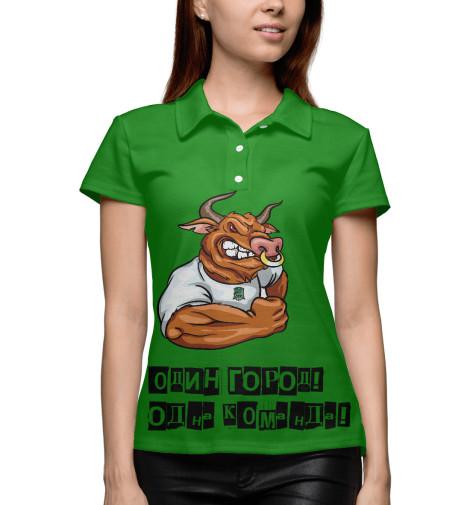 Поло Print Bar Фк Краснодар рубашка поло printio фк сатурн раменское