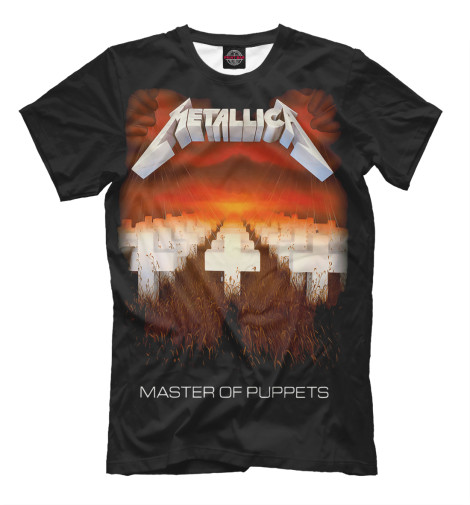 Футболка Print Bar Metallica Master of Puppets