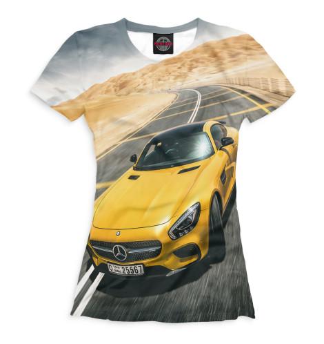 Женская футболка AMG GT