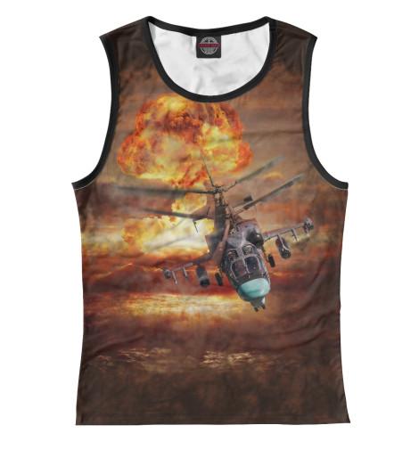 Майка Print Bar Вертолет -52 «Аллигатор»