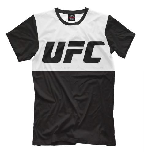 Футболка Print Bar UFC black майка print bar ufc black