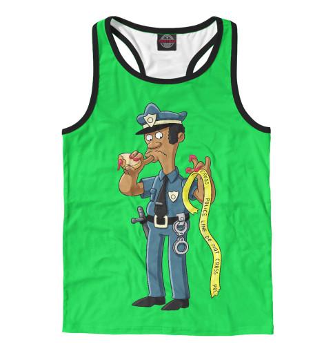 Майка борцовка Print Bar Simpsons Police police pl 12921jsb 02m